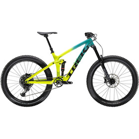 Trek Remedy 9.7 27.5 teal to volt fade